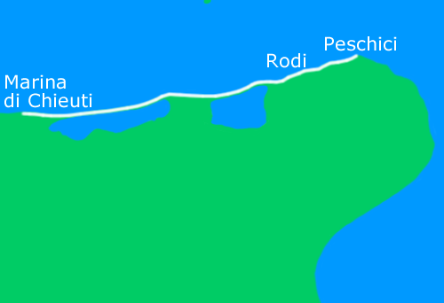 Chieuti - Peschici