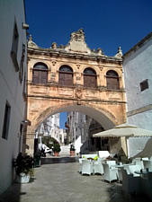 The Loggia of Ostuni