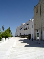 Defensive walls of Ostuni