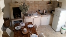 Kitchen from stairs at Casa Masa - Ostuni rental