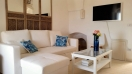 Living room with sofa of Casa Masa in Ostuni